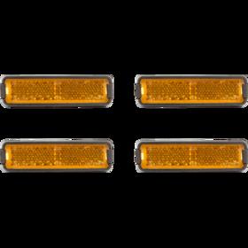 Cube RFR Pedalreflektor-Set orange